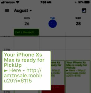Spam on my Google Calendar